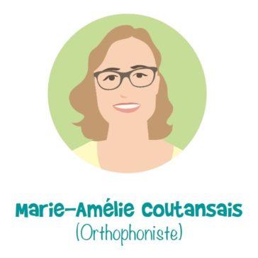 Marie-Amélie Coutansais - Orthophoniste